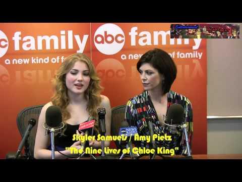 Skyler Samuels & Amy Pietz Tap Into Their Inner Feline for
