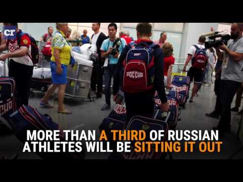 Over 100 Russian Athletes Banned from Olympics