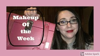 EVERYDAY MAKEUP BAG|MAKEUP OF THE WEEK