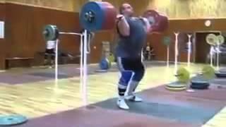 Толчок со стоек 270 кг.Чернигов.