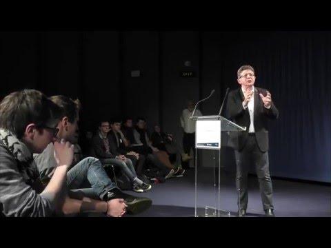 Jean-Luc Mélenchon Conférence Iségoria du 2 mars 2016
