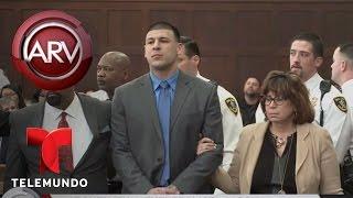 Aarón Hernández declarado no culpable de doble crimen   Al Rojo Vivo   Telemundo