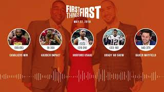 First Things First audio podcast(5.22.18) Cris Carter, Nick Wright, Jenna Wolfe | FIRST THINGS FIRST