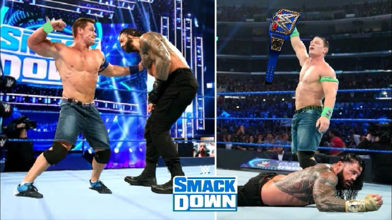 John Cena Beats Roman Reigns And Wins The Universal Championship ? WWE Raw Highlights Today