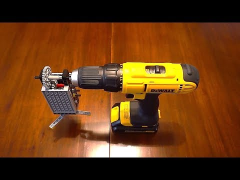 Lego Gears On A Drill / Return of the 1:67 Gear Ratio