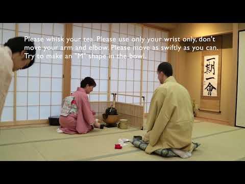 Tea Ceremony Osaka Tea Ceremony Tutorial Step by Step