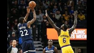 Los Angeles Lakers vs Minnesota Timberwolves NBA Full Highlights (7th January 2019)