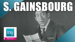 """Serge Gainsbourg """"En Relisant Ta Lettre"""" 