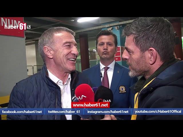 Ahmet Ağaoğlu Haber61'e konuştu