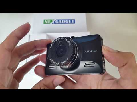 FULL HD Car Dash Cam Under £50 (Review) - Record Accidents By NEXGADGET
