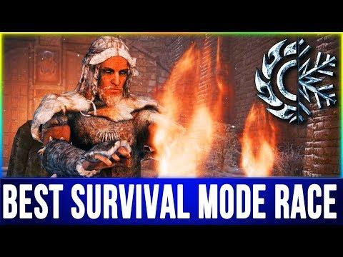 Skyrim BEST RACE for Survival Mode - Top 10