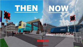 Grand Continental Railways Then and Now ROBLOX