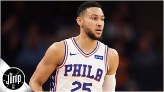 Does the latest Ben Simmons video prove his jump shot is getting better? | The Jump