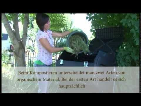 richtig kompostieren deutsch by youtube. Black Bedroom Furniture Sets. Home Design Ideas