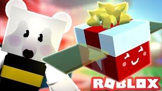 GIFTED FESTIVE BEE & BEE BEAR! | Roblox Bee Swarm Simulator