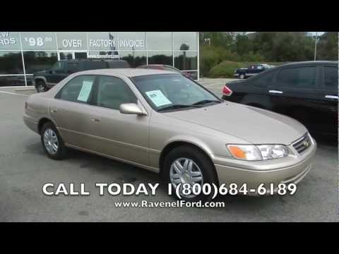 2001 toyota camry le blue book