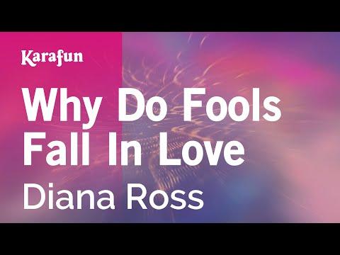 Karaoke Why Do Fools Fall In Love - Diana Ross *
