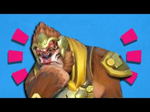 Overwatch - LEAKED Chinese New Year Skins LORE [ Winston ]