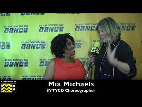 SYTYCD Mia Michaels is back and happy to work with Lex Ishimoto and Taylor Sieve!