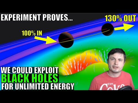 We Could Exploit Black Holes For Infinite Energy, Experiment Proves