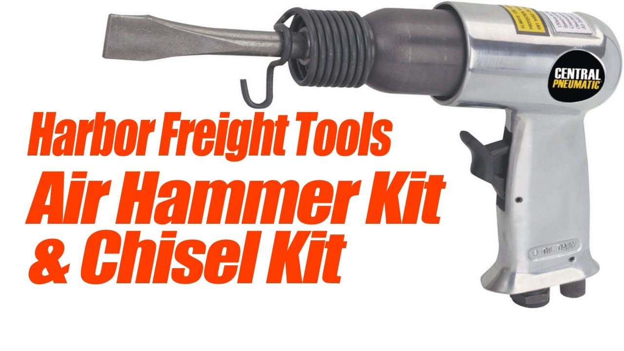 Harbor Freight Air Hammer Youtube
