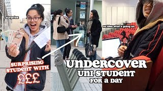 I went undercover as a uni student for a day *£100 student giveaway* | clickfortaz