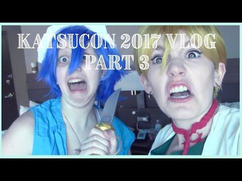 Katsucon 2017 Vlog 3: *Not Clickbait*