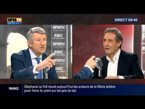 Philippe de Villiers face à Jean Jacques Bourdin en direct BFMTV 2015 10 01 09 01