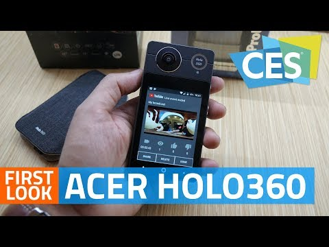 Acer Holo360 360-degree Camera For VR, Live-streaming: First Look