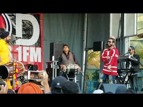 Jazzy live in Surrey Diwali festival