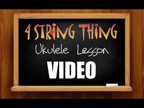 Sweet Child O Mine Ukulele Lesson Intro Youtube