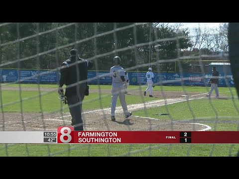 Bright yellow thing appears again, Farmington enjoys it in win over Southington, 2-1