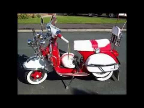 Koleksi Modifikasi Motor Vespa Klasik Motor Vespa Jadul Kuno Youtube