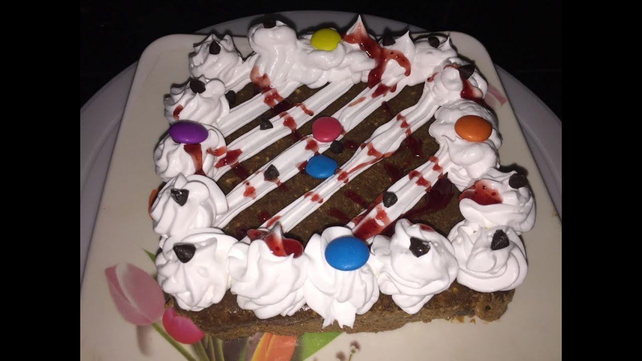 Instant Eggless Chocolate Cake Recipe