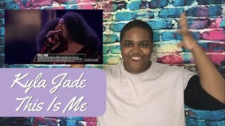 The Voice 2018 Kyla Jade - This Is Me | Reaction Mp3