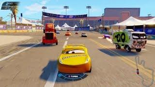 Disney PIXAR Cars 3 Cruz Ramirez Vs Mack Hauler Truck & Lightning McQueen | Driven to Win