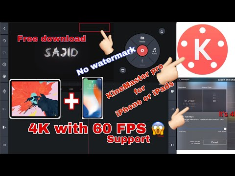 KineMaster pro free download on iPhone iPad iPad Pro 2019