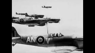 RAF Spitfires in Action