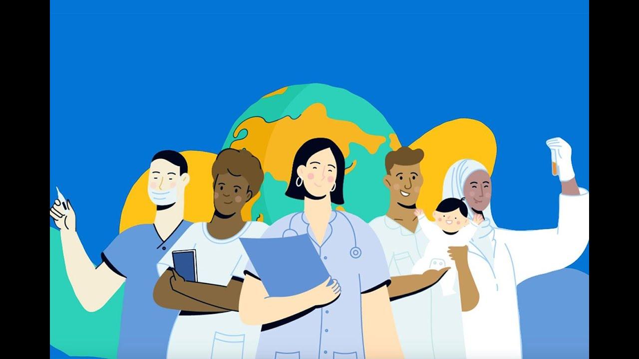 No dia mundial da saúde, ONU homenageia profissionais da saúde