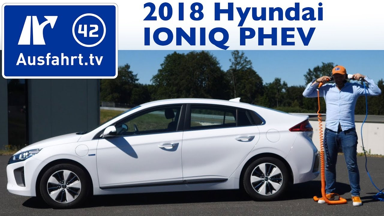 2018 hyundai ioniq plug in hybrid 6dct kaufberatung test review youtube. Black Bedroom Furniture Sets. Home Design Ideas