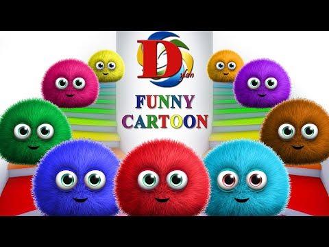 Развивающие мультфильмы - Английский язык для малышей Учим цвета. Обучающий Мультик для детей