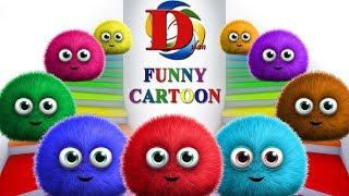 Развивающие мультфильмы - Английский язык для малышей и Цветные шарики. Обучающий Мультик для детей