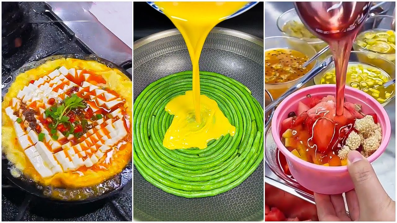 Oddly Satisfying Ninja Cooking Skills P(45) 😍😍 Tik Tok China 😍 Great Asian Ninja Skills