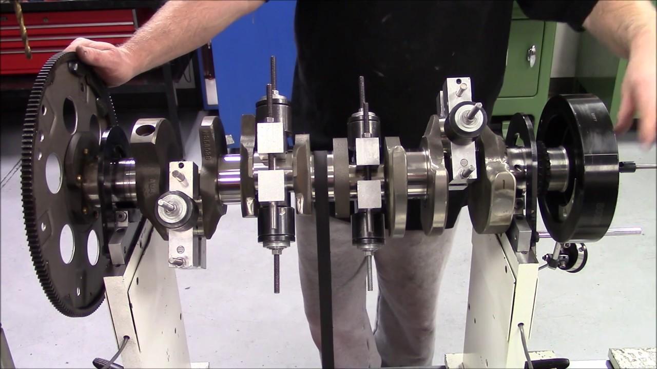 Part 9 - Rotating Assembley Balancing - Shifting Weight - 620 HP 454 Big  Block Chevy Engine Build