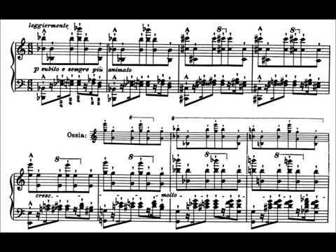 Liszt: Transcendental Etude No.8, Wilde Jagd (Kissin)