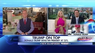 Donald Trump Joins 'Fox and Friends' After NH Primary Victory