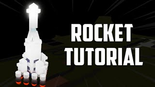 How To Build A ROCKET (Roblox Plane Crazy)