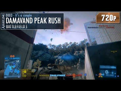 Battlefield 3 - A Simple Damavand Peak Rush