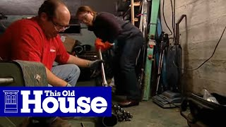 How to Replace a Whole-House Plumbing Trap | This Old House