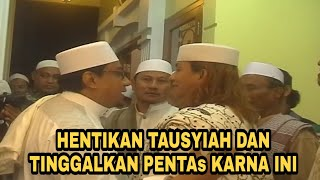GEGER!! HABIB BAHAR HENTIKAN TAUSYIAH DAN BERJALAN MENINGGALKAN PENTAS SESAAT KARNA INI